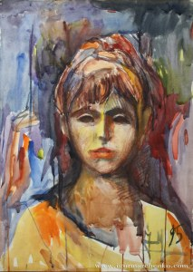 portrait_discogirl_watercolor