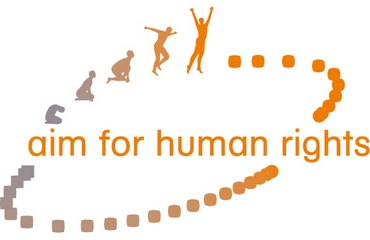 Aim for Human Rights - Logo