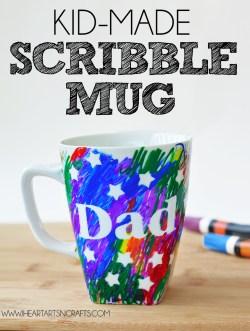 Robust Scribble Gift Mug Easy Day Sharpie Mug Kids Craft Color Your Own Coffee Mug