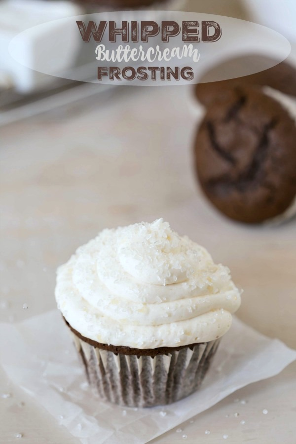 Whipped Buttercream Frosting Recipe