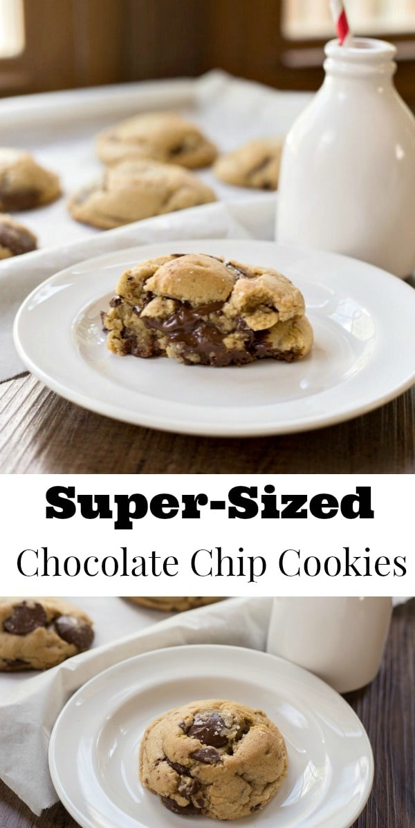 Super-Sized Chocolate Chip Cookies