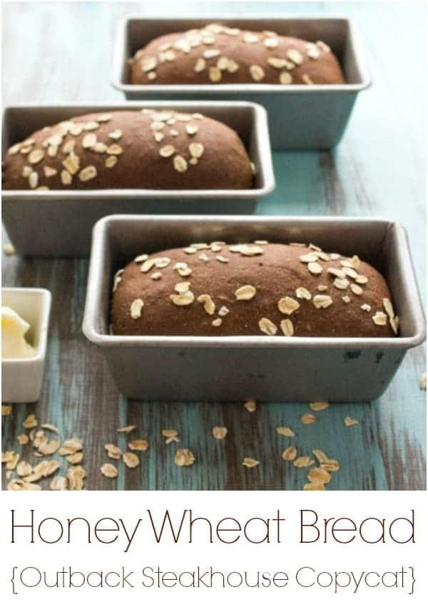Honey Wheat Bread {Outback Steakhouse Copycat}