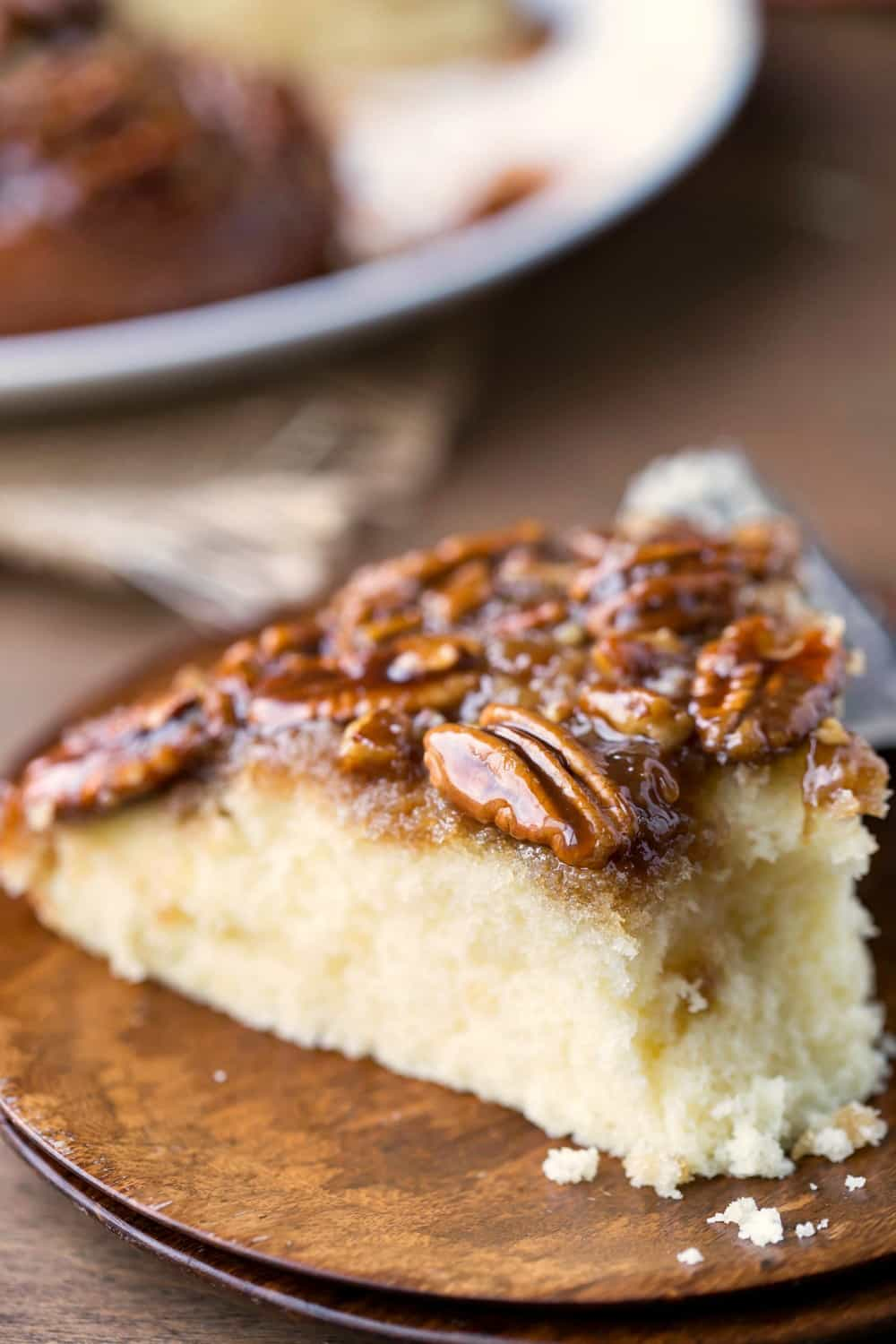 Pie or cake? Have both! This Pecan Pie Upside-Down Cake recipe is the ...