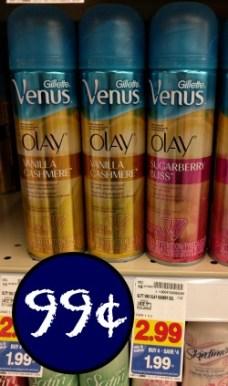 venus-shaving-gel-99¢-in-kroger-mega-sale