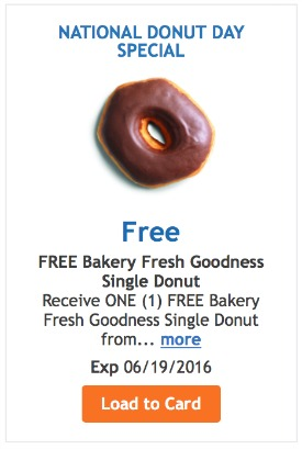 FREE donut kroger