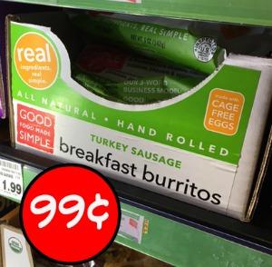 Good Food Made Simple Breakfast Burritos - Just 99¢ At Kroger