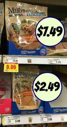 Milo S Kitchen Dog Treats Printable Coupons