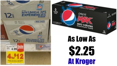 pepsi-zero-diet-pepsi-12-pack-cans-as-low-as-2-25-at-kroger