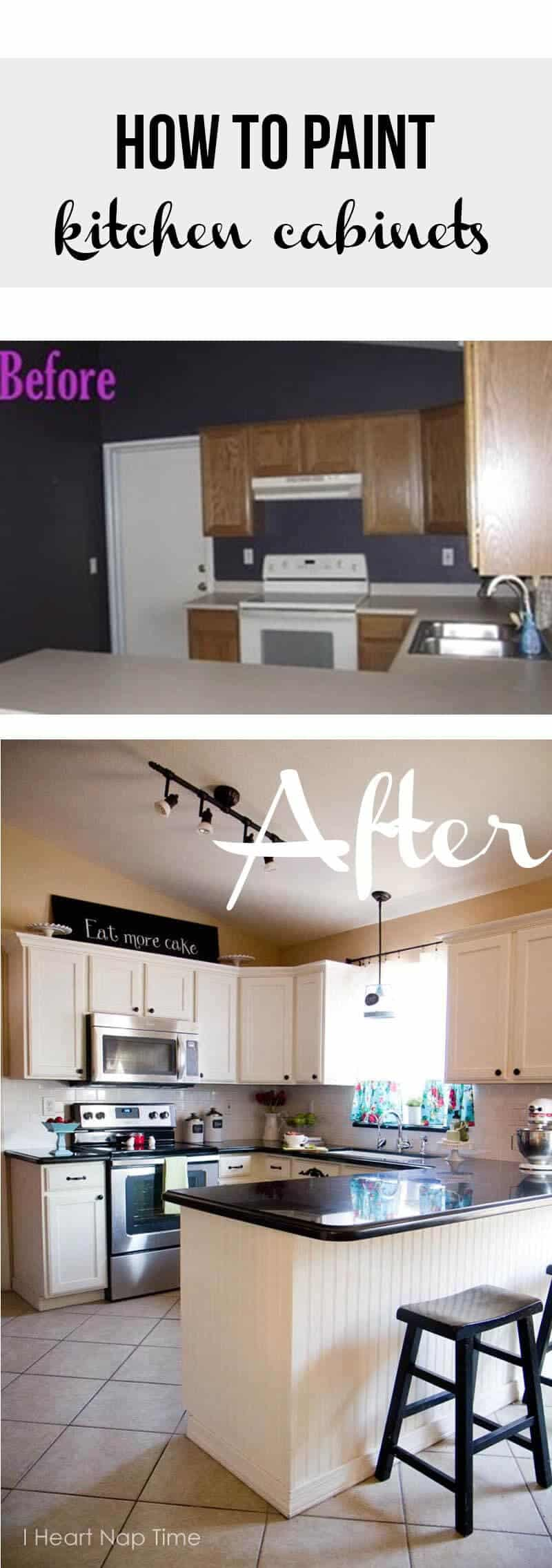 kitchen makeover repaint kitchen cabinets how to paint kitchen cabinets
