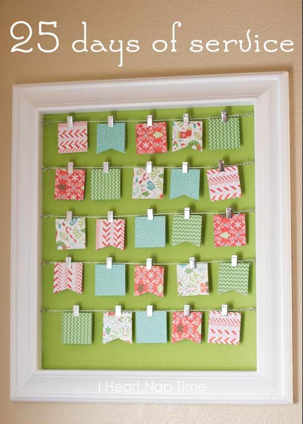 Kids Christmas Calendar Ideas : Diy christmas advent calendar ideas