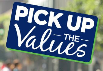 Pick Up The Values