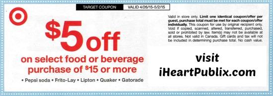 target coupon pepsico