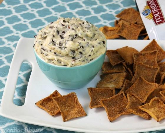 Chocolate Chip Pecan Cookie Dough Dip
