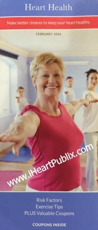 Publix pharmacy booklet heart health