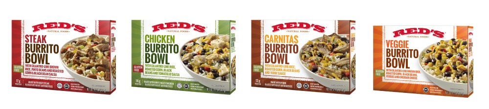 red's burrito bowl