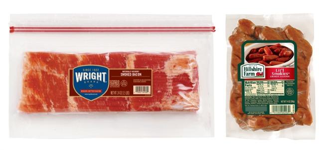 wright bacon hillshire lit'l smokies