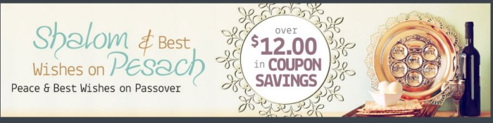 passover coupons