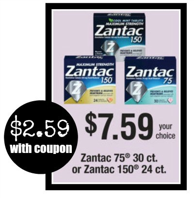 Zantac Dosage Adults