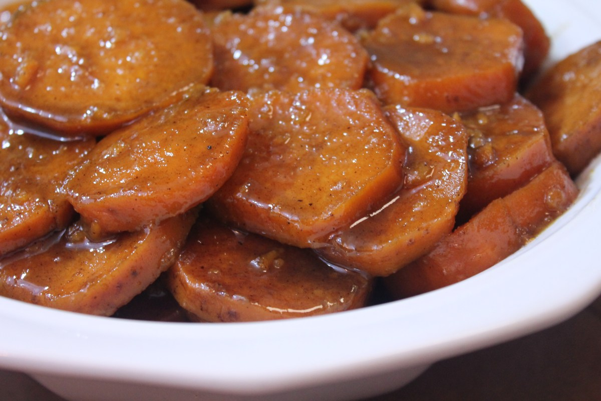 Baked Candied Yams - Soul Food Style!