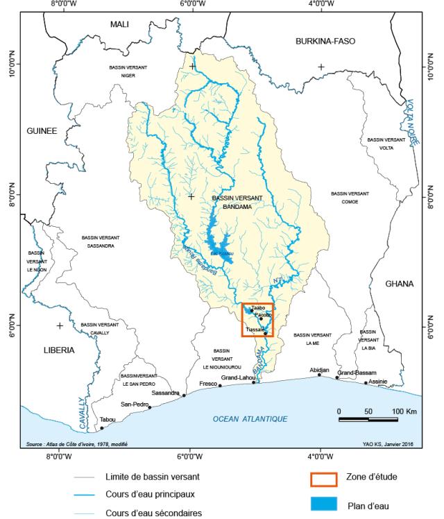 Site Barrage Singrobo