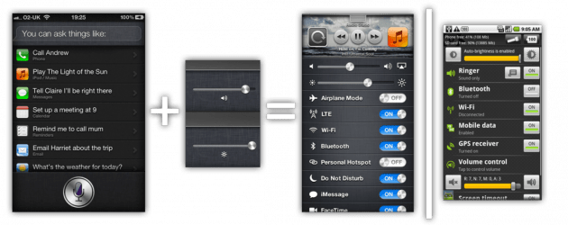 QS1-1  iOS 7 Concept video of 'Quick Settings'  QS1 1