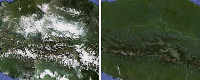 central-papua  Google removed the clouds from Google Maps and Earth central papua