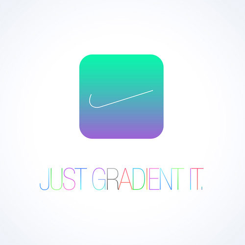 nike-design  Welcome to the sector of iOS 7 design  iOS 7 cool 11
