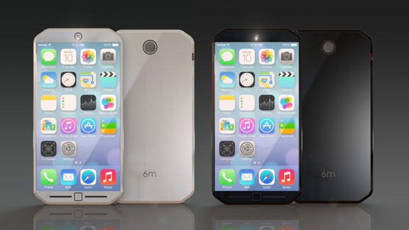 iPhone-6-1  Thinner iPhone 6 Concept with 18-megapixel camera [renders] iPhone 6 1