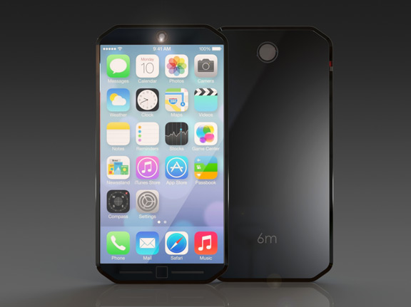 iPhone-6m 3  Thinner iPhone 6 Concept with 18-megapixel camera [renders] iPhone 6m 3