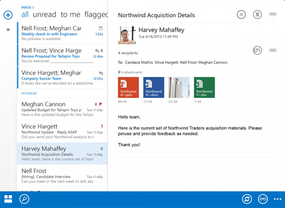 outlook-iOS-2  Microsoft released the Outlook for iPhone and iPad outlook iOS 2
