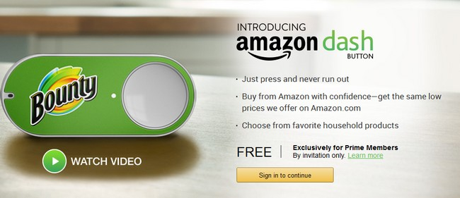 Amazon Dash Button Let You Order Products With The Push Of A Button