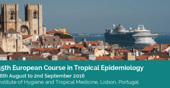 35th European Course in Tropical Epidemiology (ECTE 2016): Applications are open!