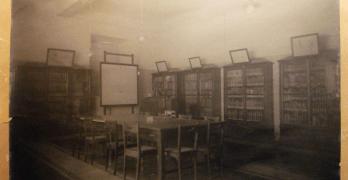 """Biblioteca da Escola de Medicina Tropical"", fotografia"