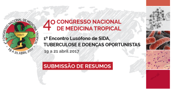 Banner submissão de resumos do 4º Congresso Nacional de Medicina Tropical