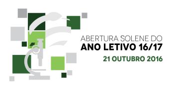 Secretária de Estado profere conferência da Sessão Solene de Abertura do Ano Letivo 2016/17, a 21 de outubro