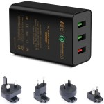 3Ports USB Charger 42W QC2