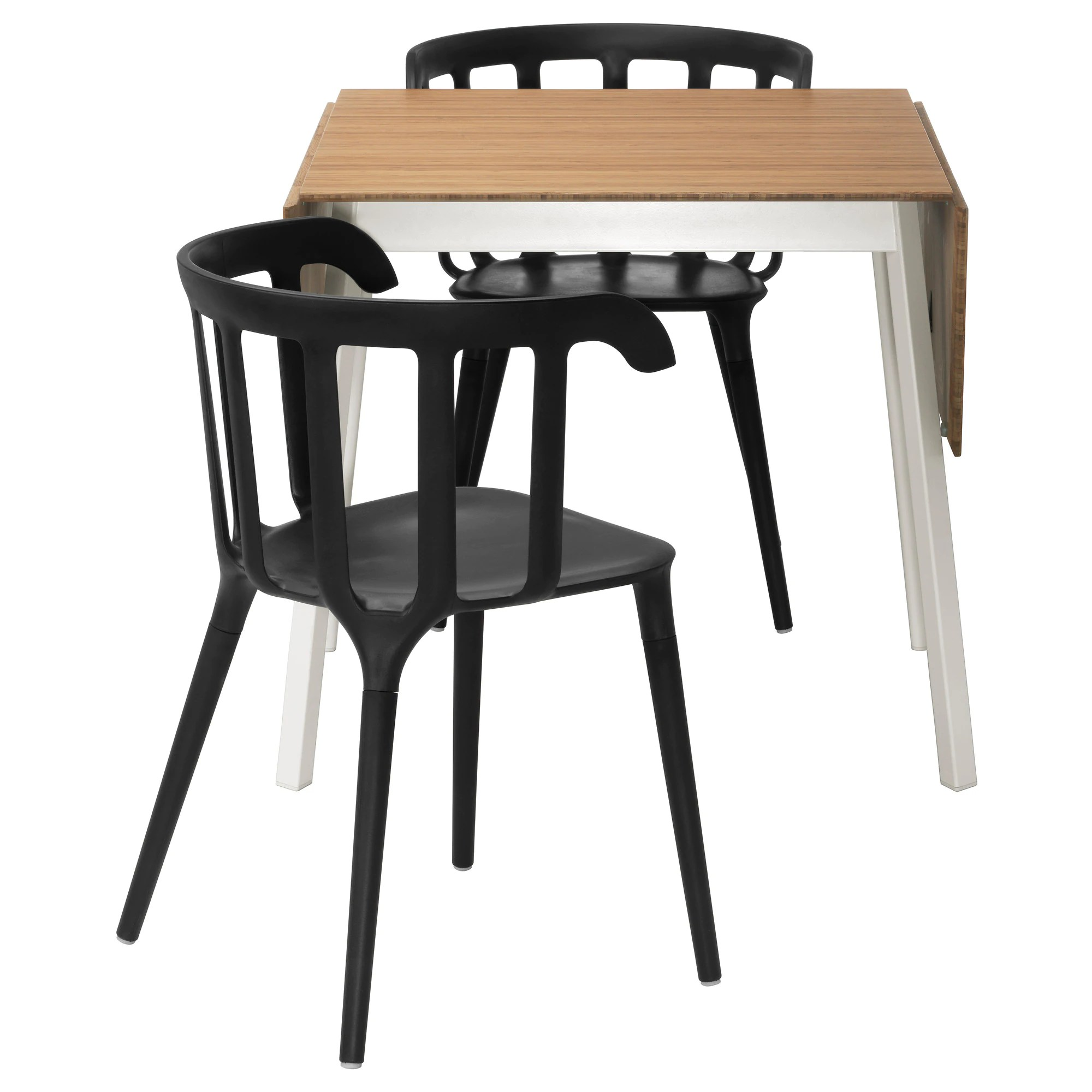 two seat kitchen table IKEA PS IKEA PS table and 2 chairs bamboo black Length