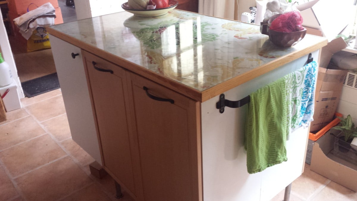 top kitchen cabinets made into a kitchen island kitchen island cabinets Top kitchen cabinets made into a kitchen island