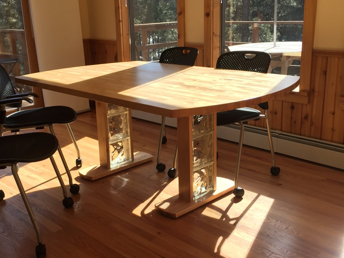 hideaway dining table using ikea mirror murphy kitchen table Birch Dining Table from Hammarp Countertop