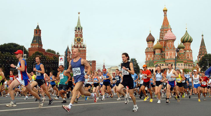 #somethingfresh: Preparing For The Moscow Marathon