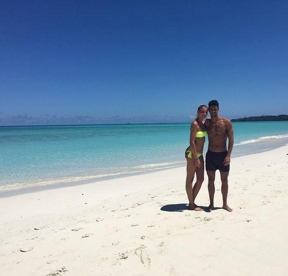 Cristian e Tara dopo il matrimonio in vacanza in Madagascar
