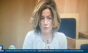 Maria Grazia Di Scala in  Consiglio Regionale