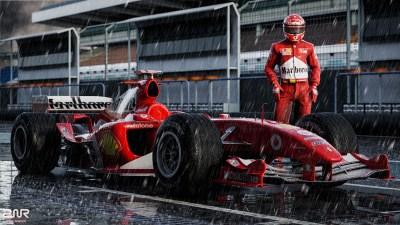Daily Wallpaper: Ferrari F2004 ft. Michael Schumacher | I ...