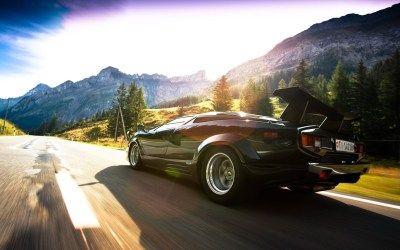Daily Wallpaper: Lamborghini Countach | I Like To Waste My Time