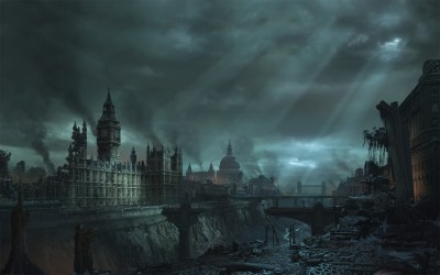 Daily Wallpaper: Apocalypse in London | I Like To Waste My Time