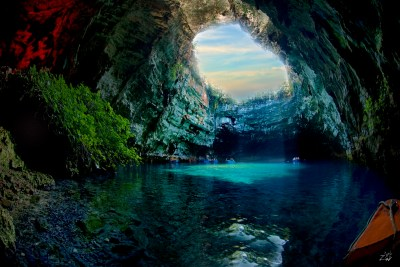 Stunning Nature of Melissani Cave, Greece | I Like To Waste My Time