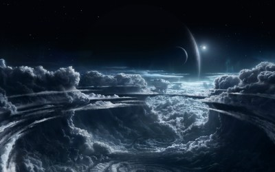 Daily Wallpaper: Space Storm | I Like To Waste My Time