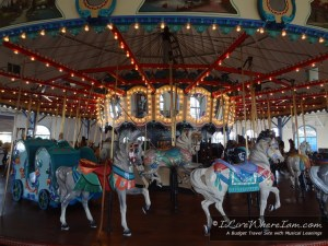 Santa Monica Pier Carousel