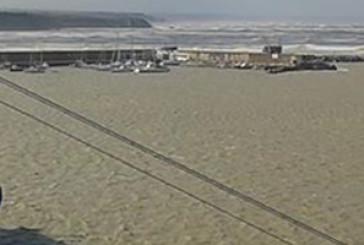 Maltempo, navi bloccate al porto di Punta Penna