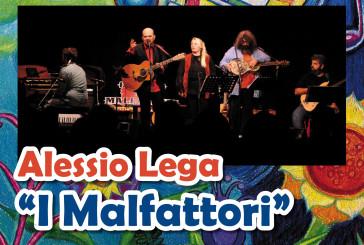 """Alessio Lega """"I Malfattori"""" in concerto"""
